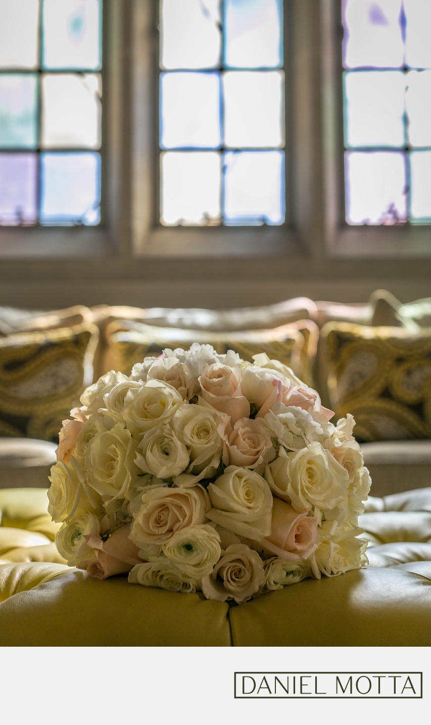 Dallas Photograph of Wedding Bouquet at Highland Park