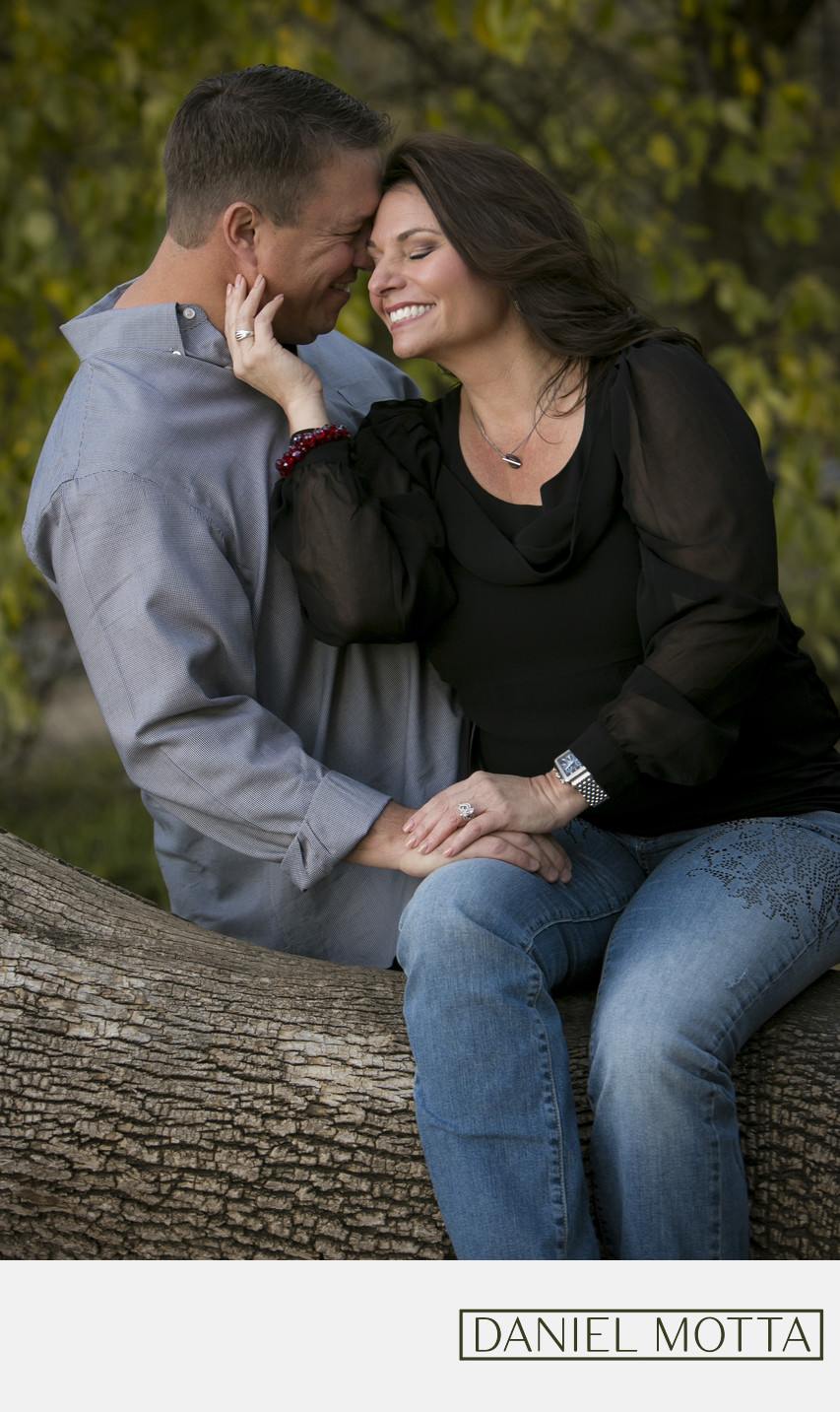 Photo of couple at Prairie Creek Park