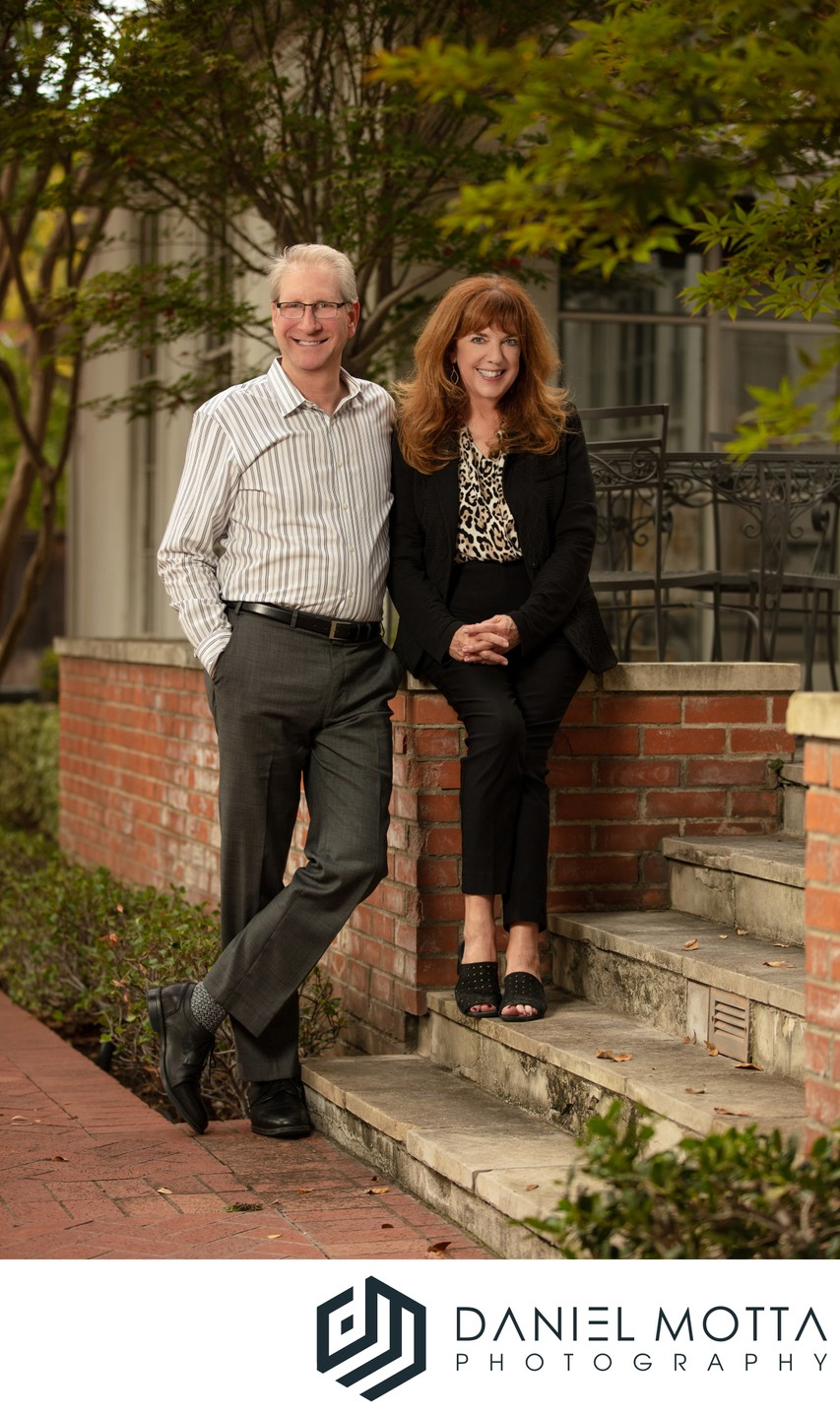 Commercial portrait of Maria Ward and Bill Zeman I DMP