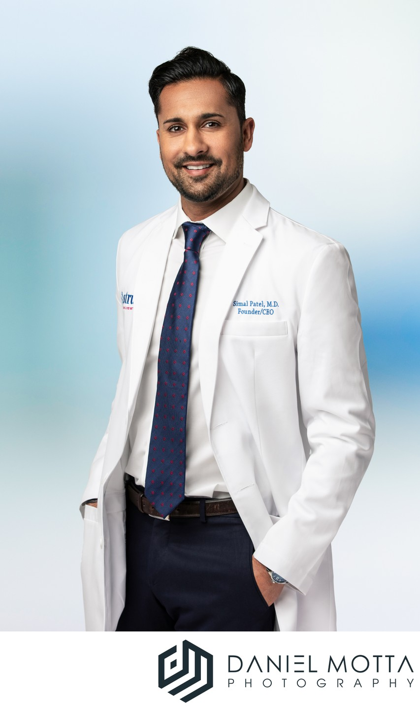 Medical Commercial Portraits by Daniel Motta