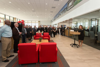 Manager Speaking at Longo Toyota Prosper Grand Opening
