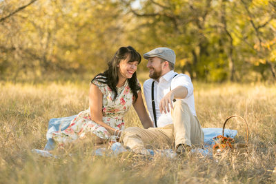 Plano Engagement Photographer at Arbor Hills