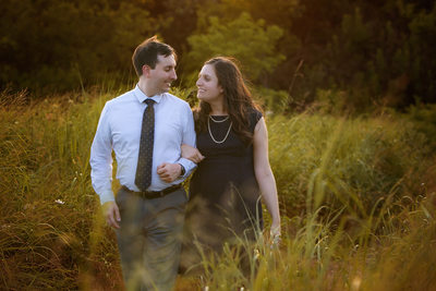 Engagement Photos Plano TX, Arbor Hills Nature Preserve