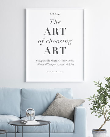 The Art of Choosing Art : By Dave Perry Miller