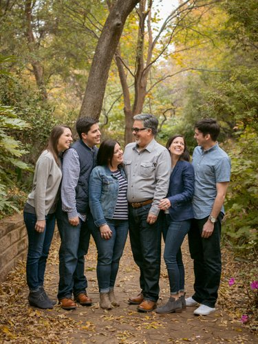 Family Photographer at Grapevine Botanical Gardens