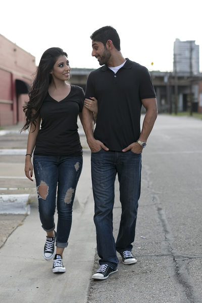 Engagement Photography in Deep Ellum Texas