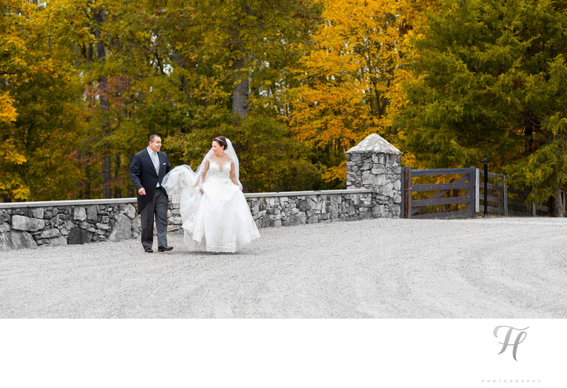Dover Hall Outdoor Wedding