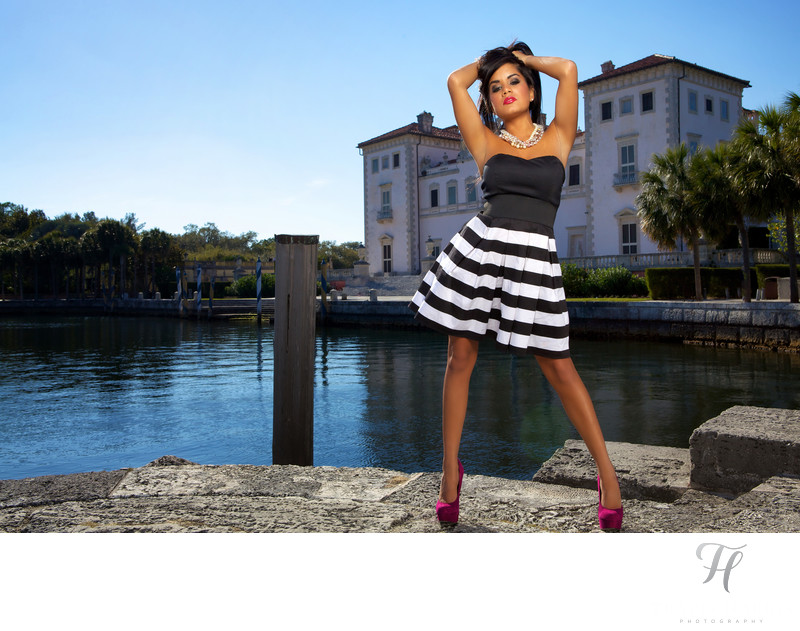 Fashion Shoot in Vizcaya