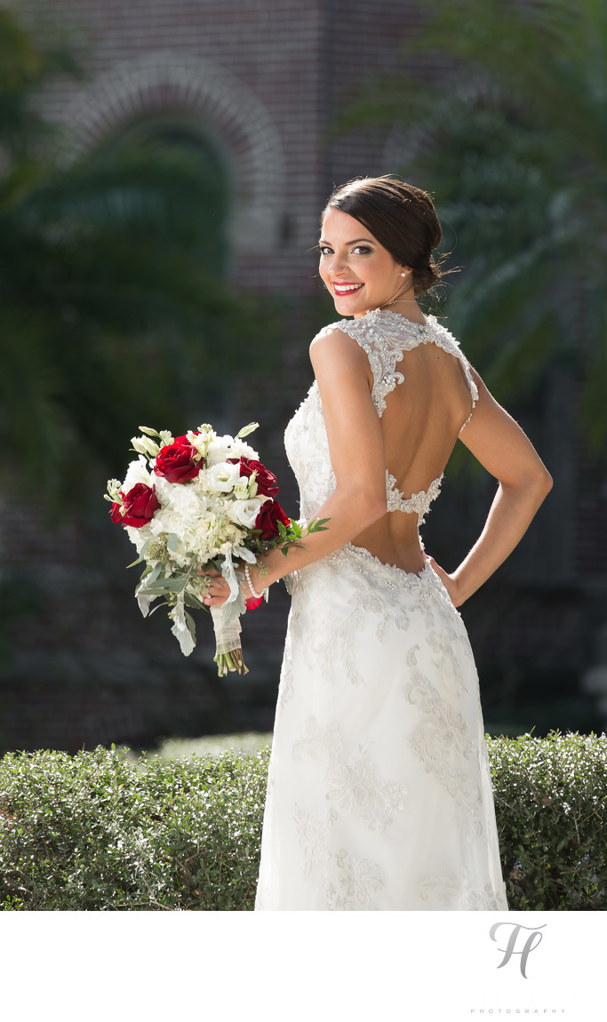 Tampa University Wedding Photos
