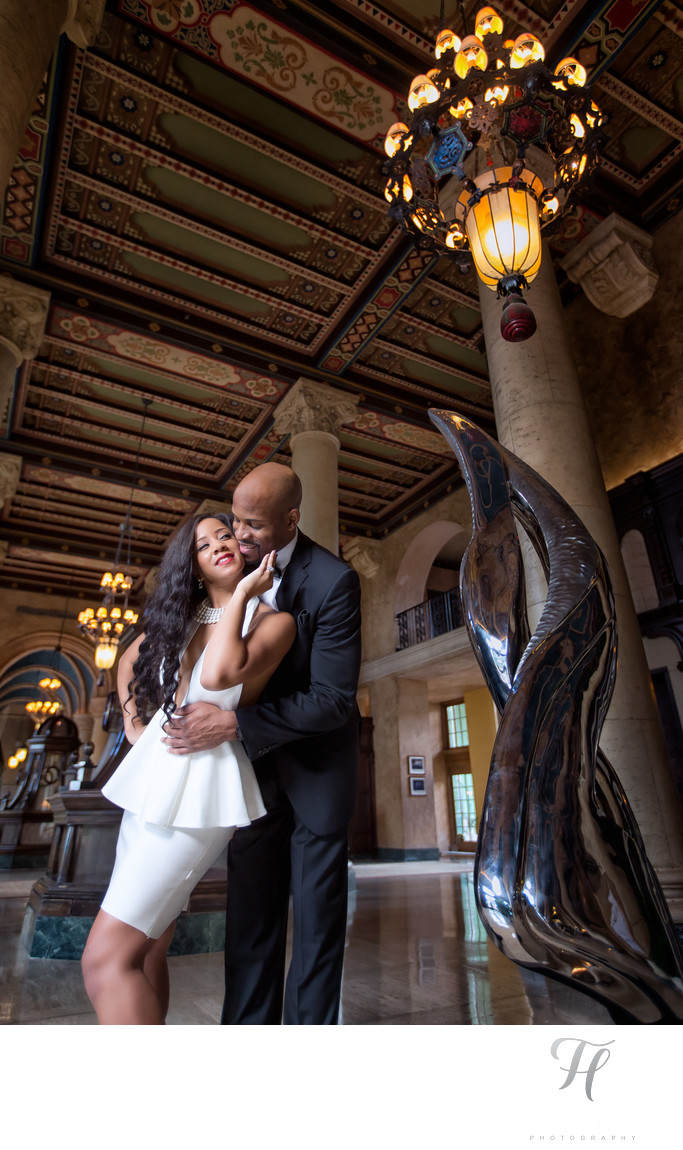 Engagement Photos at the Biltmore Miami