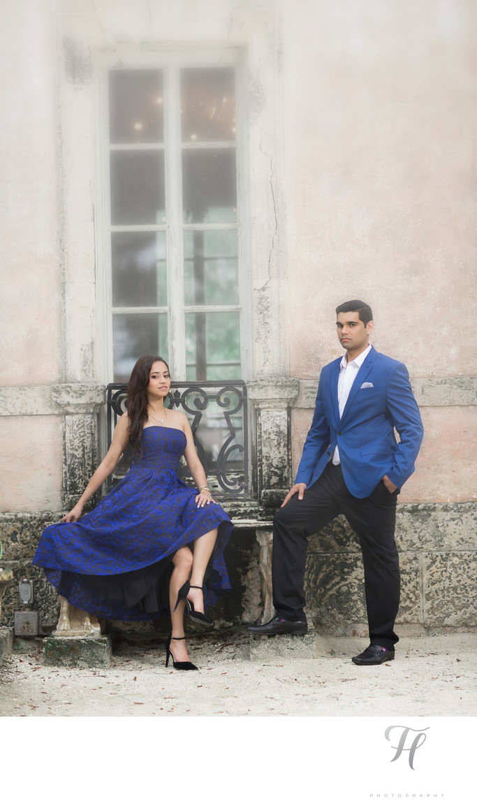 Unique Vizcaya Engagement Photos