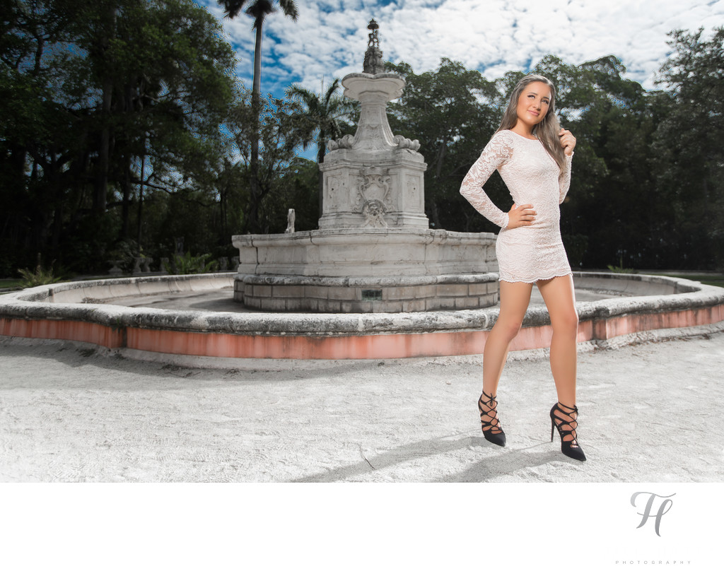 Styled Quince Photos at Vizcaya