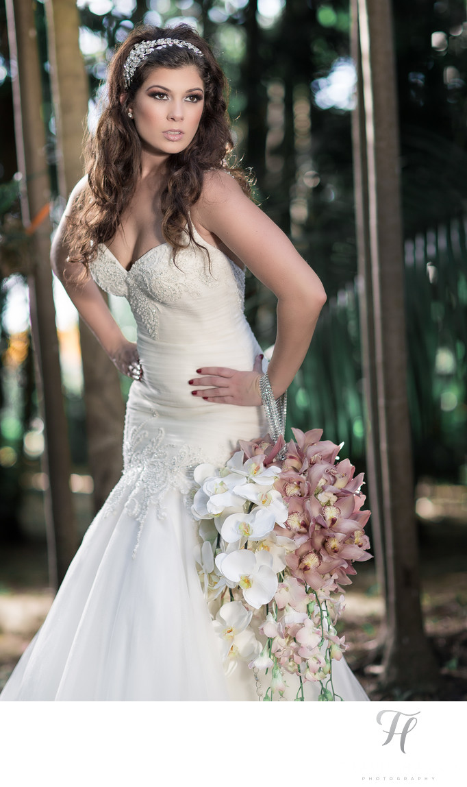 Fairchild Bridal Fashion Shoot