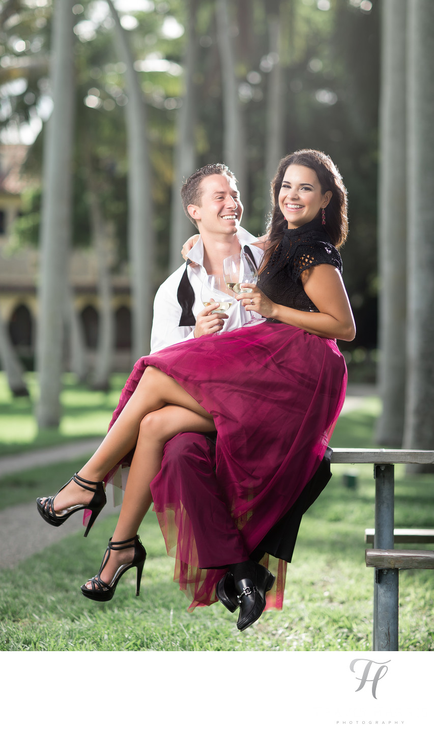 Deering Estate Engagement Sessions