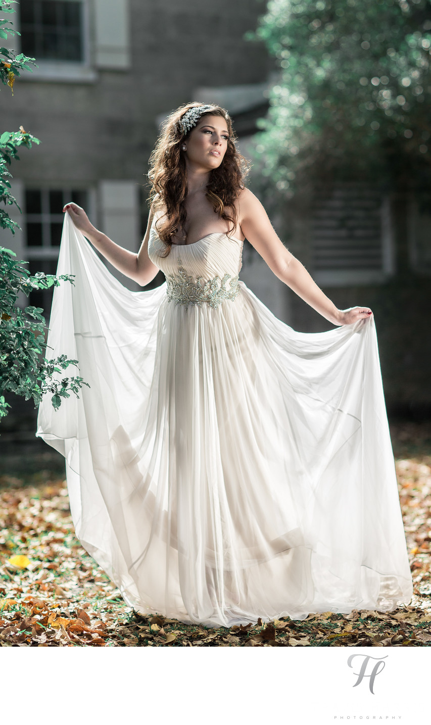 Fairchild Garden Bridal Image