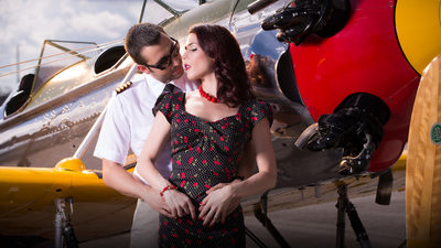 Airplane Engagement Session Miami