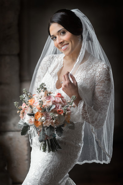 Spanish Monastery Wedding Photos