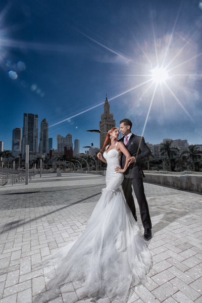 Creative Wedding Photos in Miami