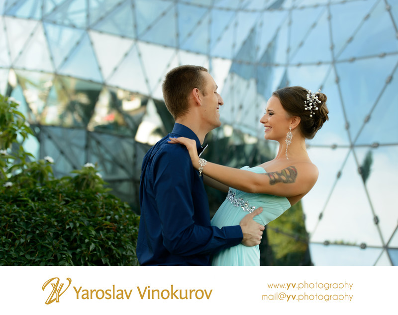 Dali Museum Engagement Photos