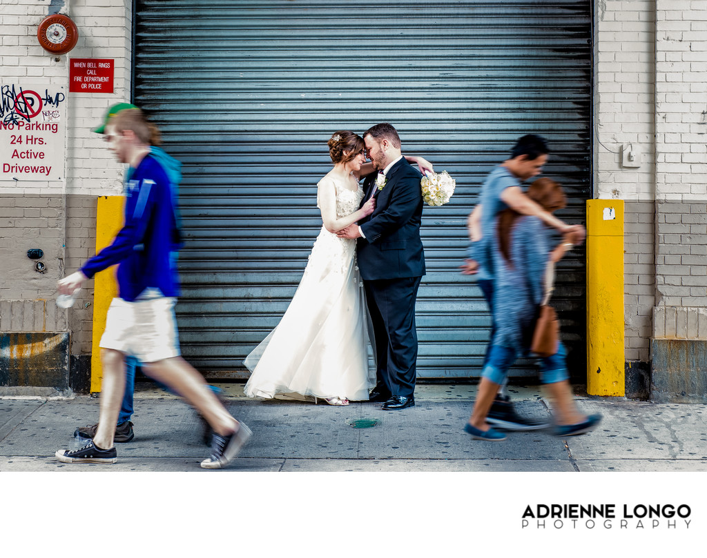 NYC Wedding Photo