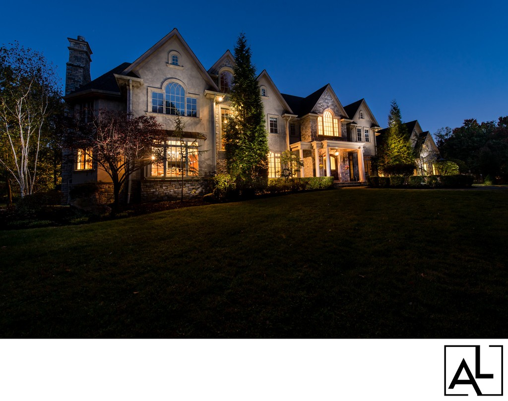 New Jersey Real Estate Photographer that takes night photos.