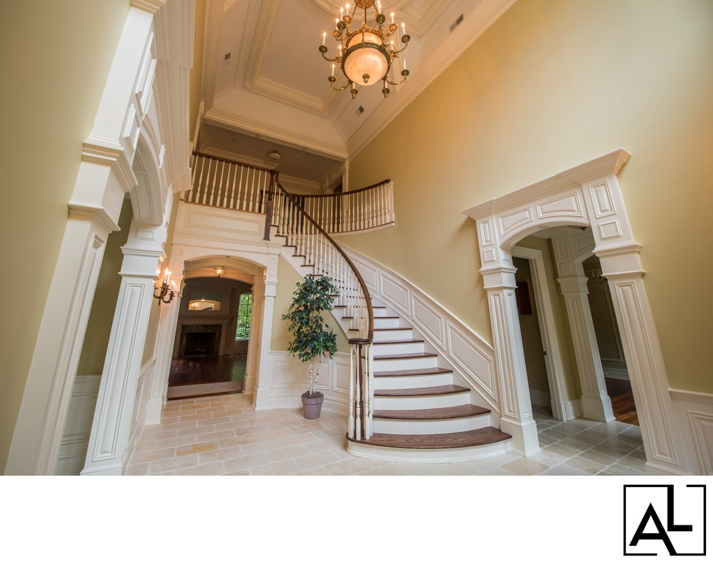 High-end real estate photography in Old Tappan