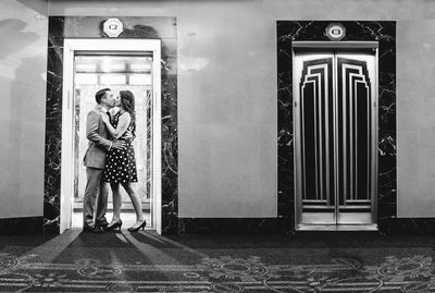 Empire State Building Engagement Photo