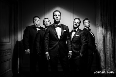 Park Chateau Groomsmen Photo