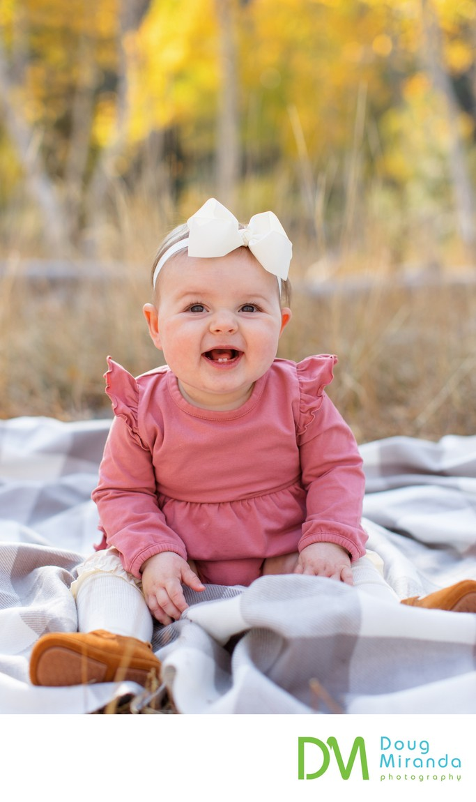 Truckee Baby Photography