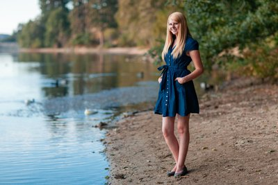Granite Bay Senior Portrait Photography