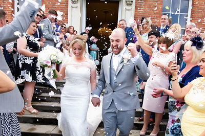 Let's celebrate now. We just got married. Wedding in Berkshire.