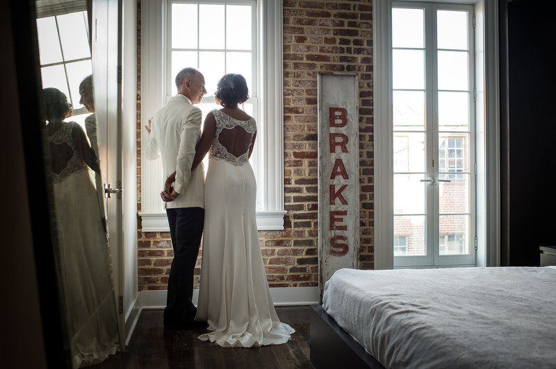 fathom art gallery dc wedding