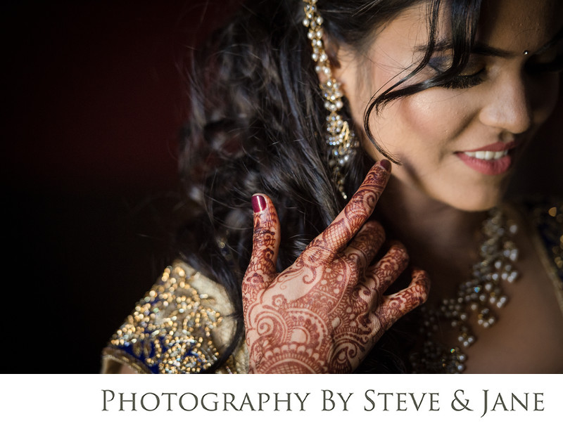raspberry plain fine art indian wedding