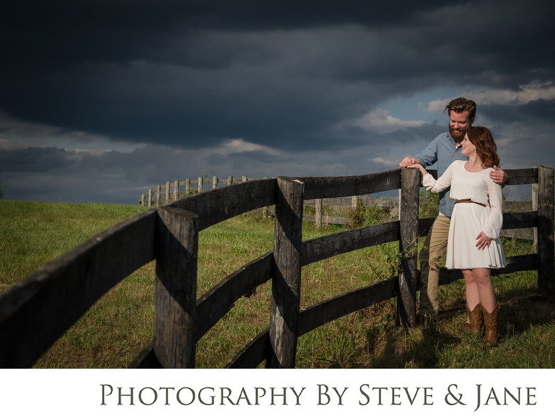 Northern Virginia Farm Engagement Session