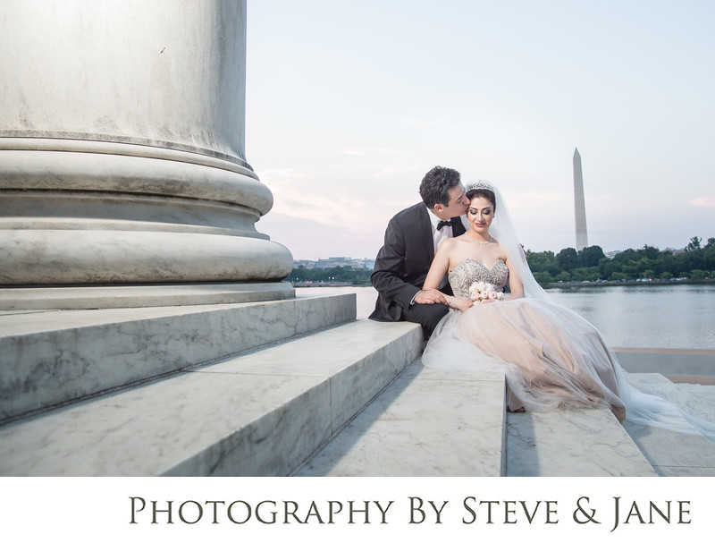 Jefferson Memorial Persian Wedding