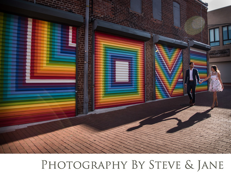 Blagden Alley Engagement Session