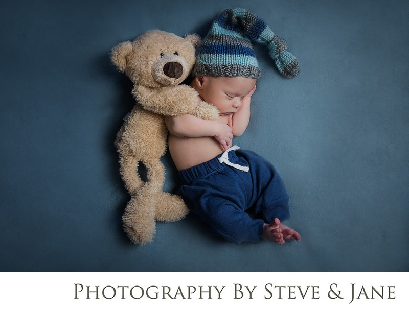 Newborn boy portrait photography DC Metro Area