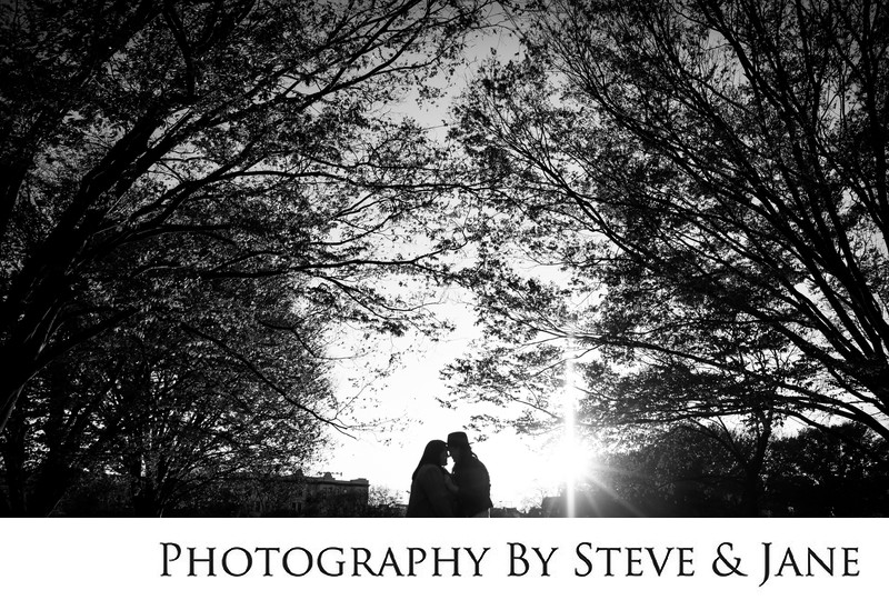 Capitol Hill Autumn Engagement Session