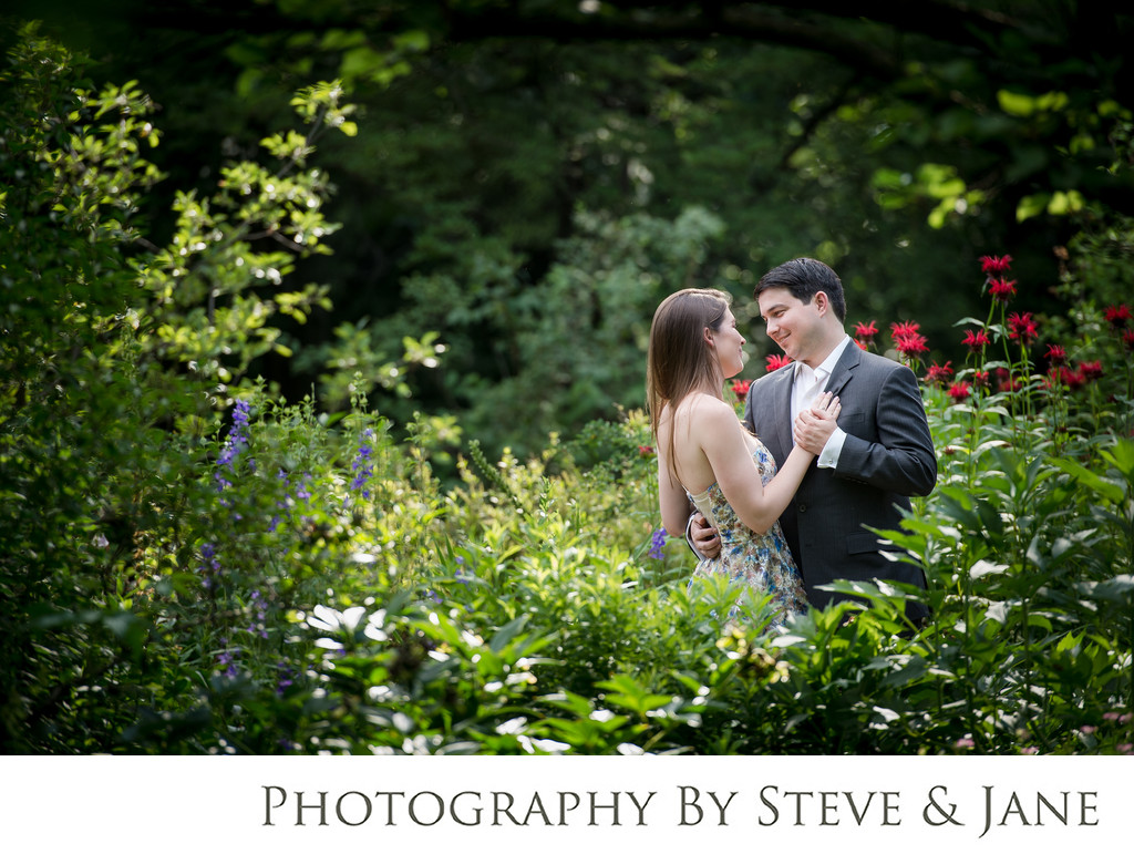 Tudor Place Wedding Engagement Session Georgetown DC