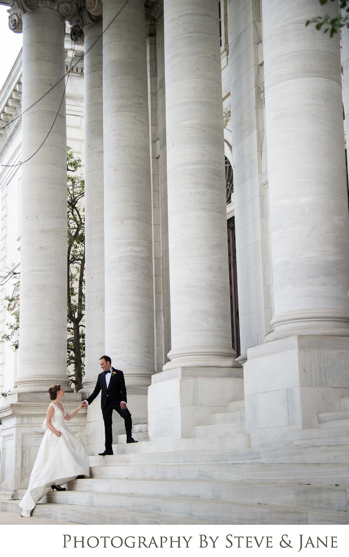 DAR Constitution Hall Wedding Portraits