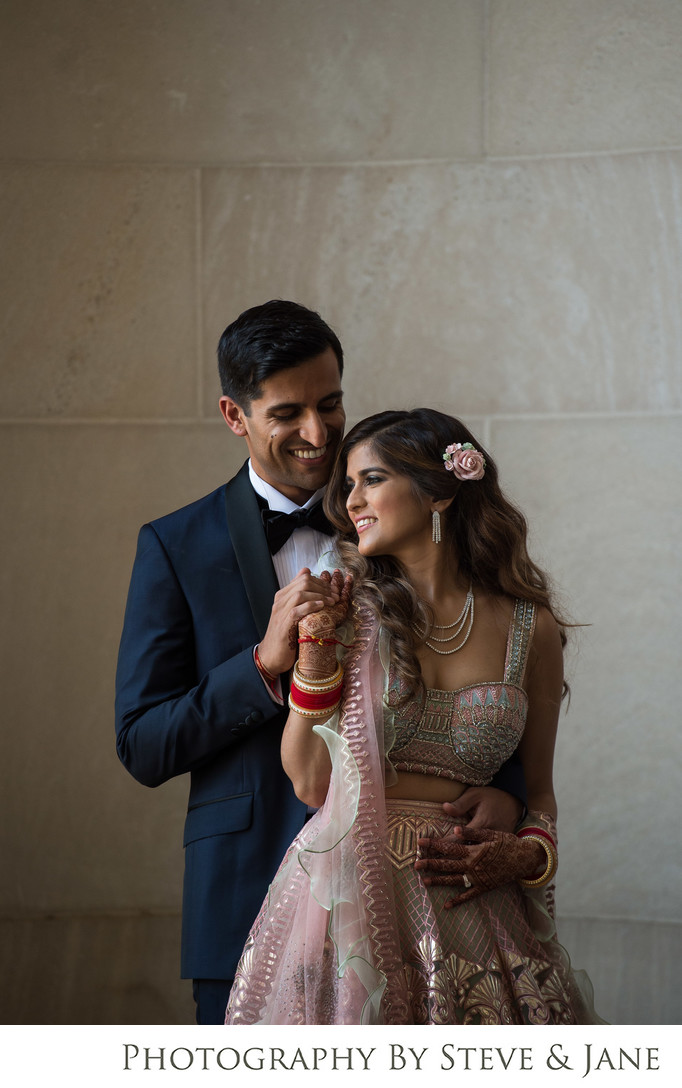 Mellon Auditorium Wedding Portraits
