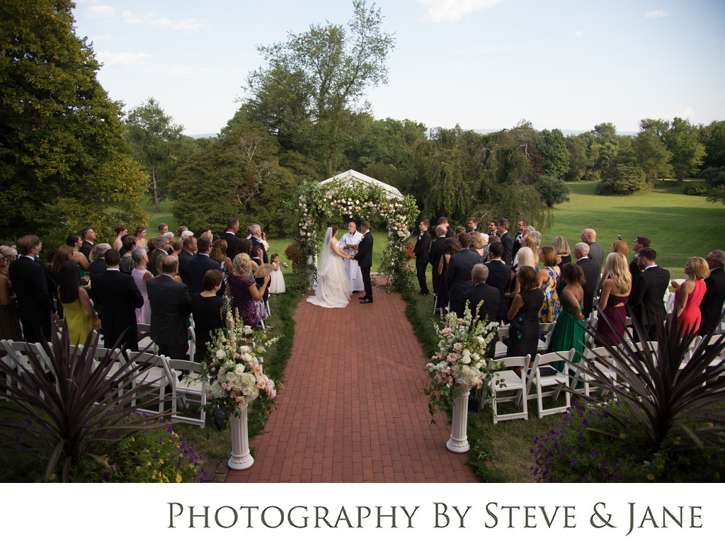 Garden Ceremony at Historic Rosemont Manor