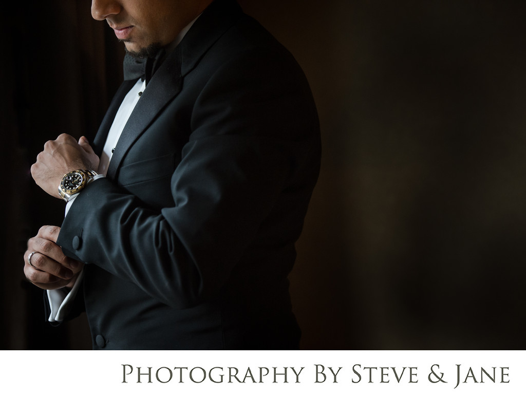 Grand Hyatt DC Classic Groom Photo