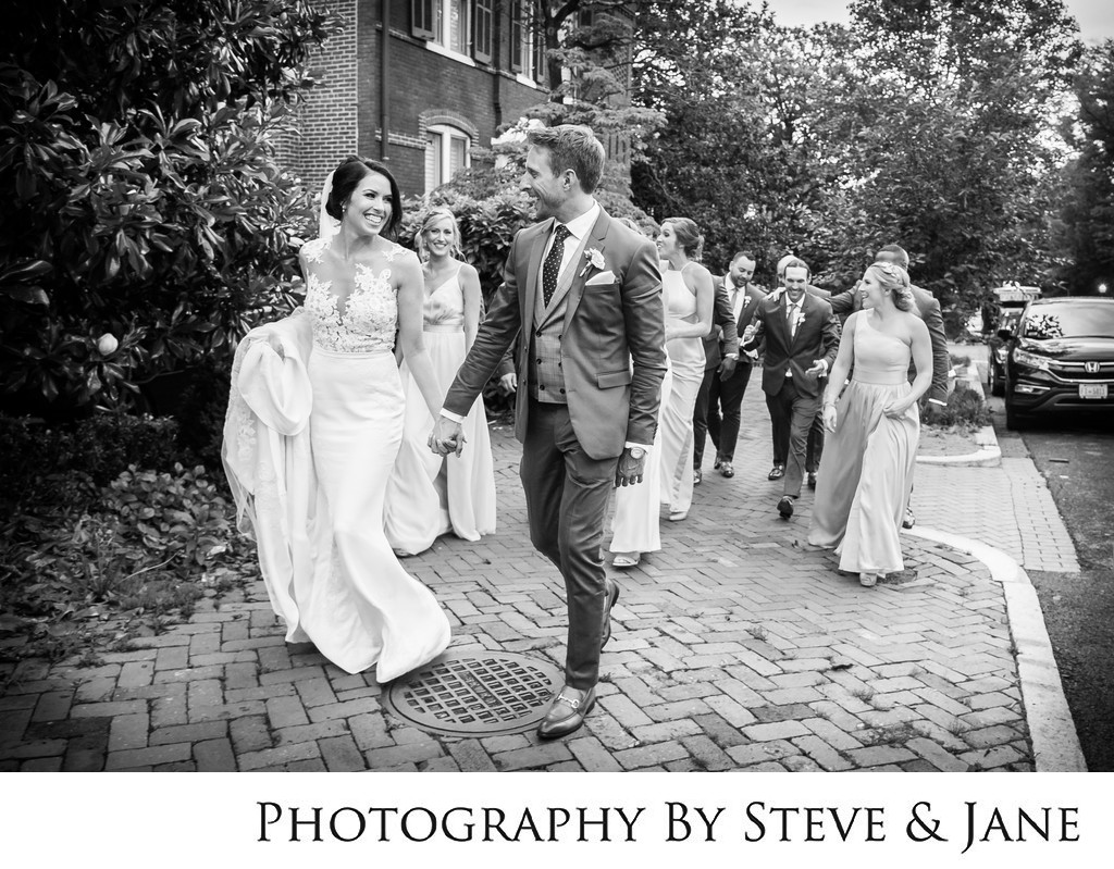 Four Seasons Georgetown DC Wedding Party Photography