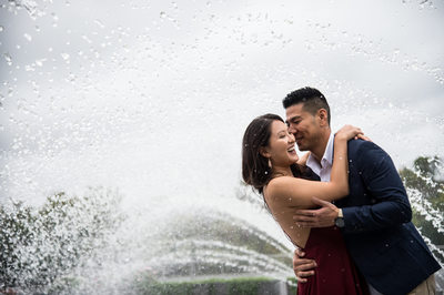 Georgetown Waterfront Park Engagement Session