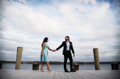 Alexandria Waterfront Engagement Session