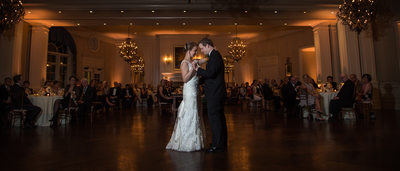 First dance at Army Navy Country Club