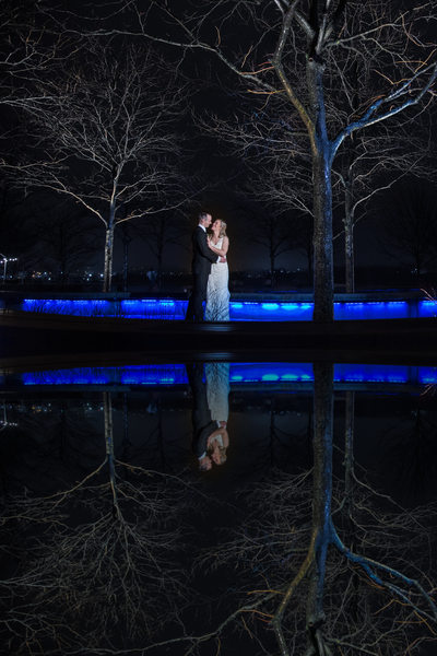 Yards Park Winter Wedding