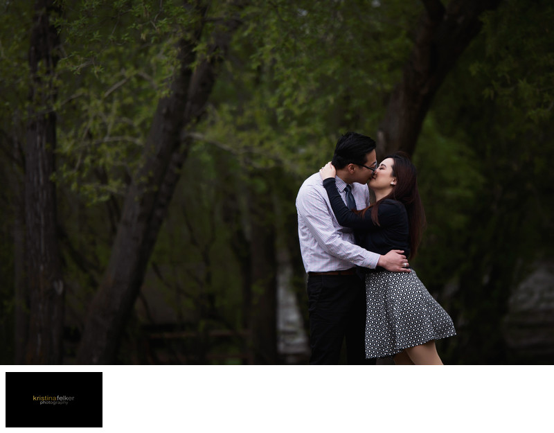 Asian Engagement Pictures