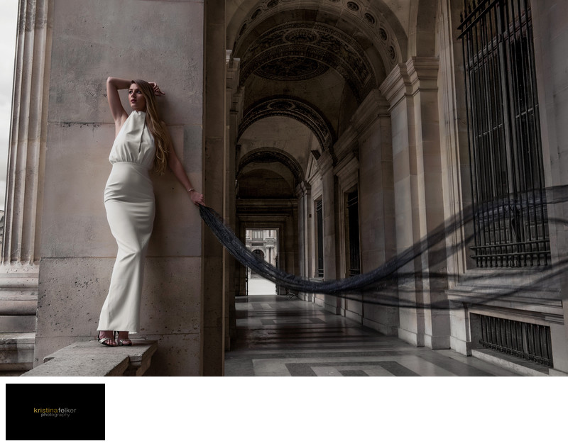 Musee du Louvre Wedding Photography